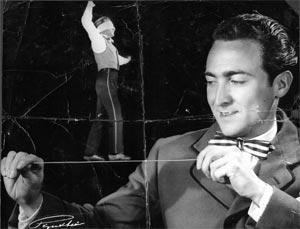 El artista del alambre del circo madrileño.