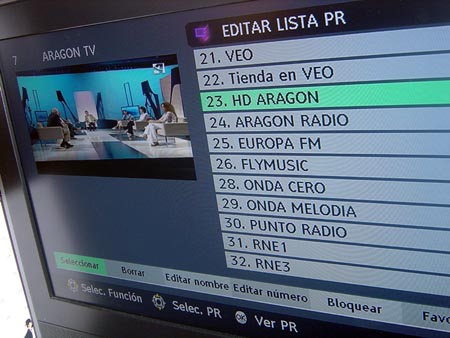 La TDT, pantalla multicanal