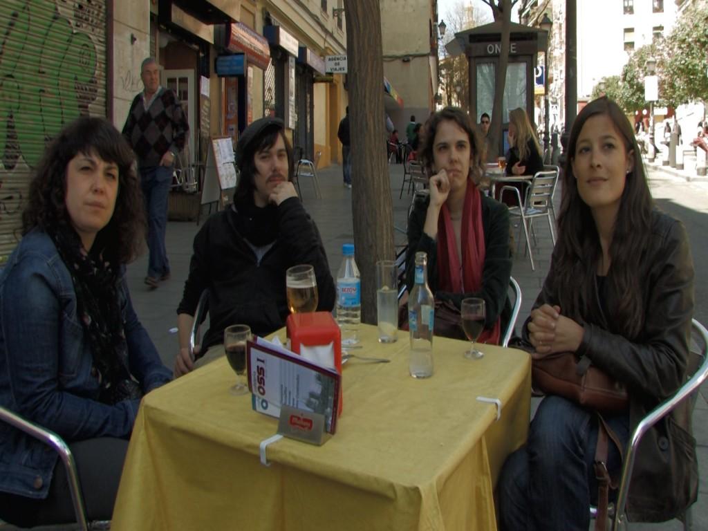 Cuarteto Ombú, grupo de música de raíces madrileño